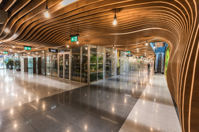 Redesign obchodnej pasáže objektu Tatracentrum