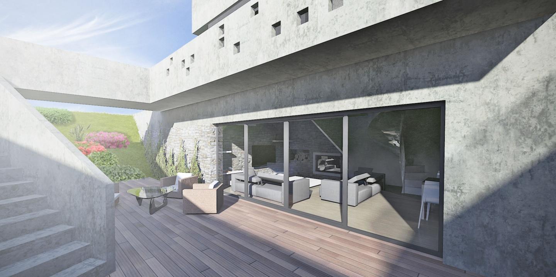 <strong>Chata Bernolákovo</strong></br>Architektonická štúdia