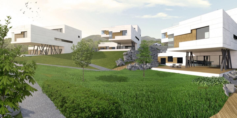 <strong>Obytný súbor - Uptown Koliba</strong></br>- Architektonicko-urbanistická štúdia