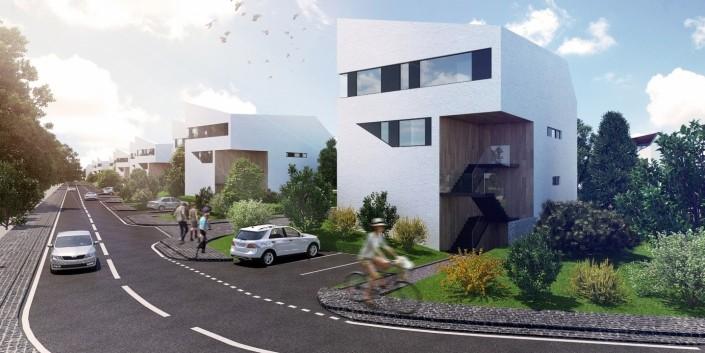 Obytná zóna Vajnory - Overovacia architektonicko-urbanistická štúdia