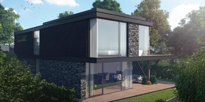 Rodiný dom AHainburg - Architektonická štúdia