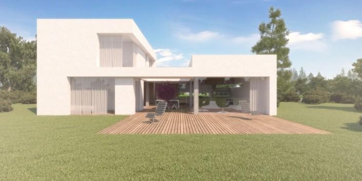 Rodinný dom Lúka - Architektonická štúdia
