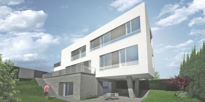 Trojgeneračný rodinný dom - Bratislava