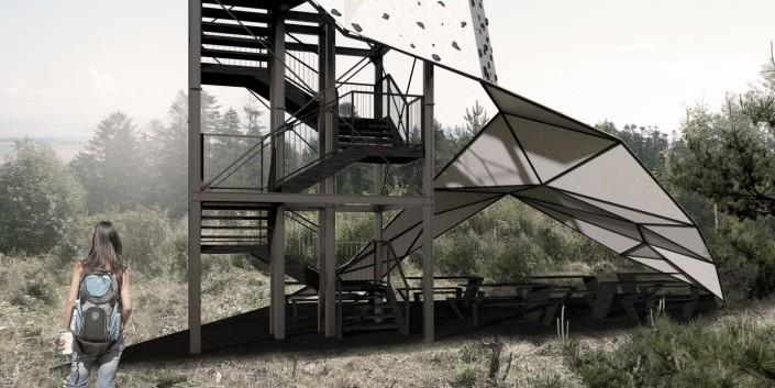 Výhliadková veža - Architektonická štúdia - súťaž