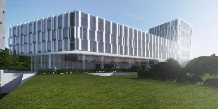 WHO Geneva, Švajčiarsko - Architektonická štúdia
